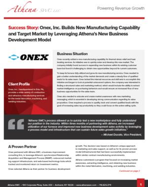 Onex Case Study Preview