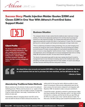 plastic injection molder case study